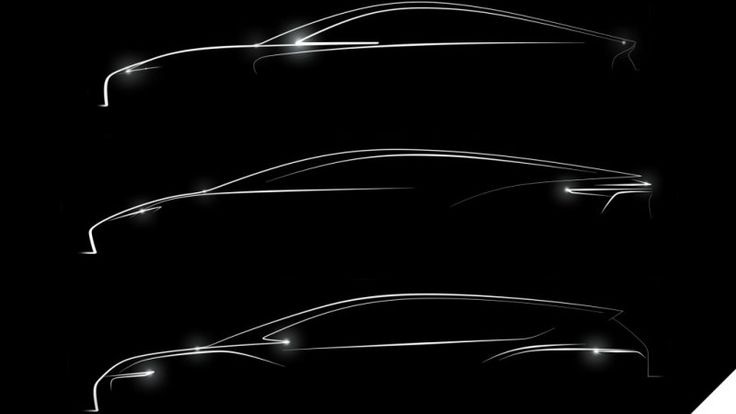 Detroit Electric releases sketch of 3 planned EVs