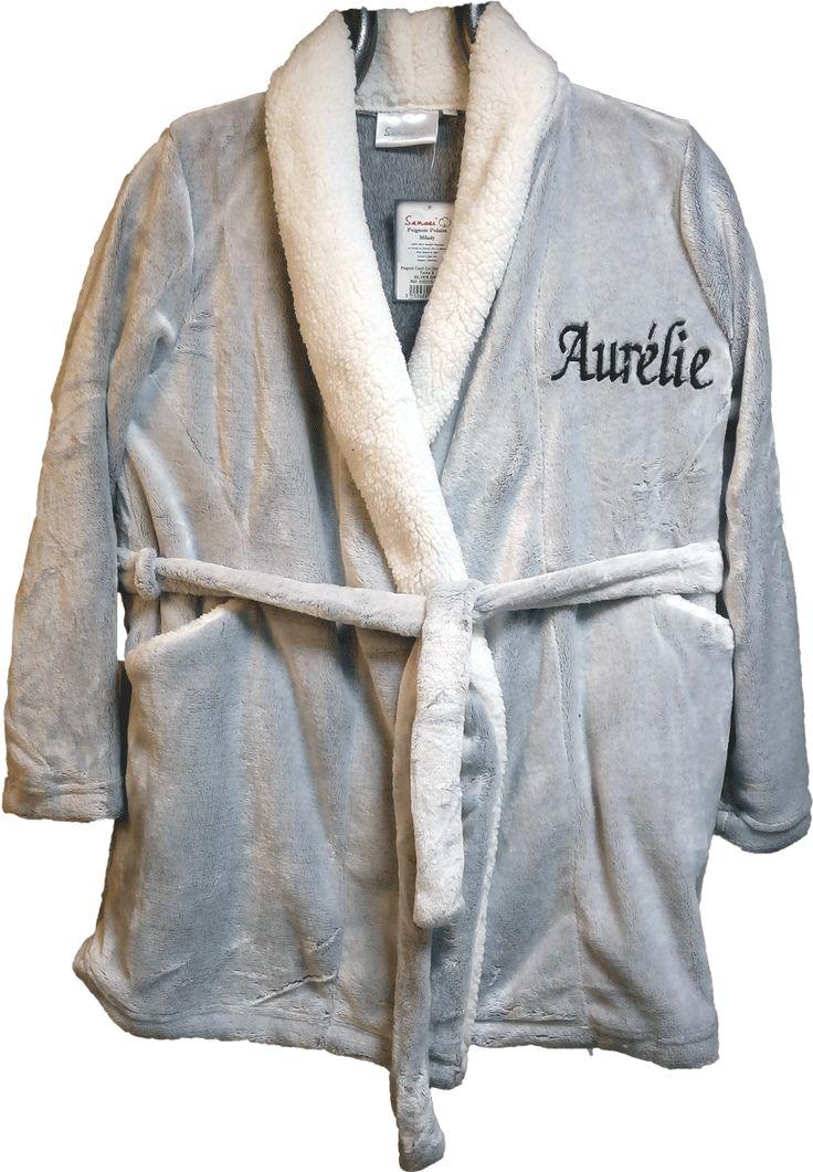 Les 25 meilleures id es de la cat gorie peignoir polaire - Robe de chambre polaire homme pas cher ...