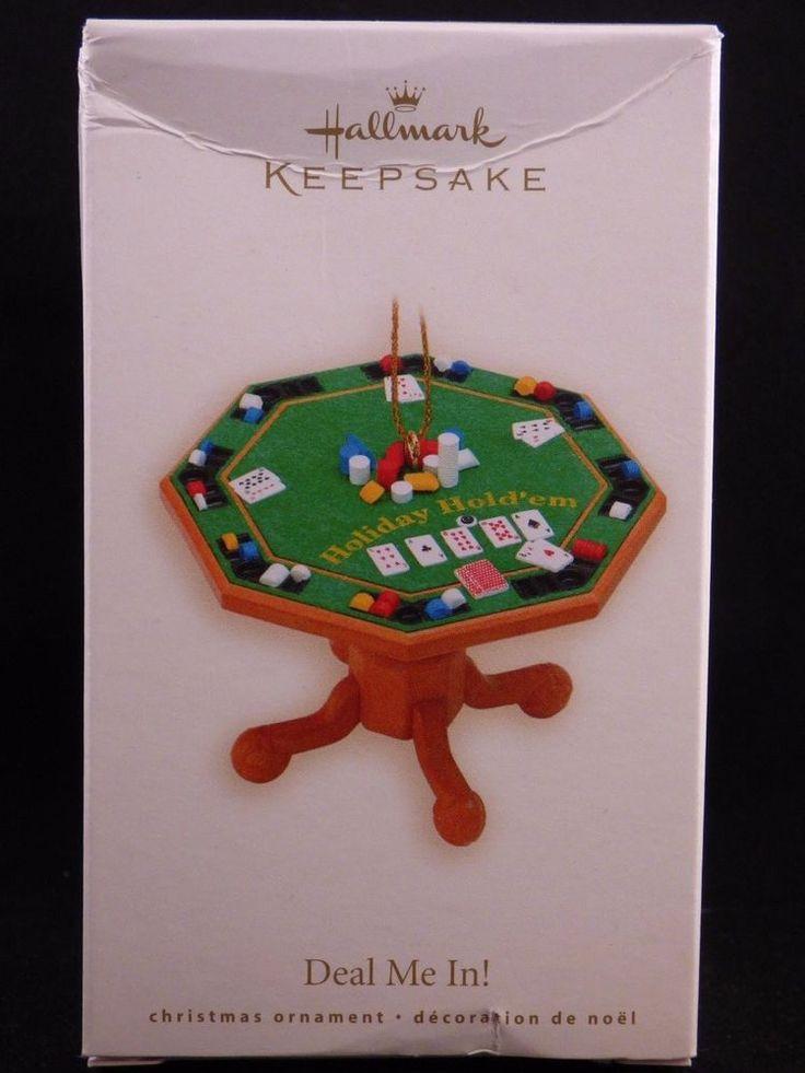 Deal Me In 2007 Hallmark Ornament Poker Chips Texas