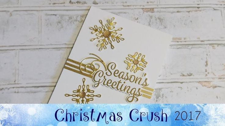 Snowflake Sentiments Card featuring Stampin' Up!® Products