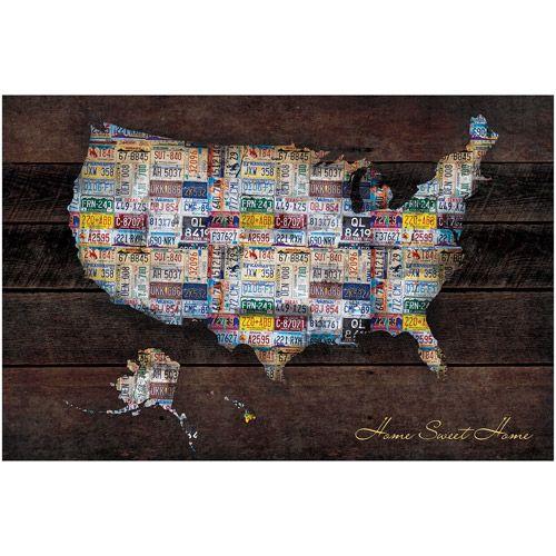 Mejores 62 imgenes de boys apartment school supplies en us map 22375 x 34 poster print gumiabroncs Images