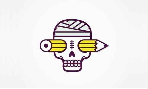 30 Skull Logos Designs to Inspire and Frighten You