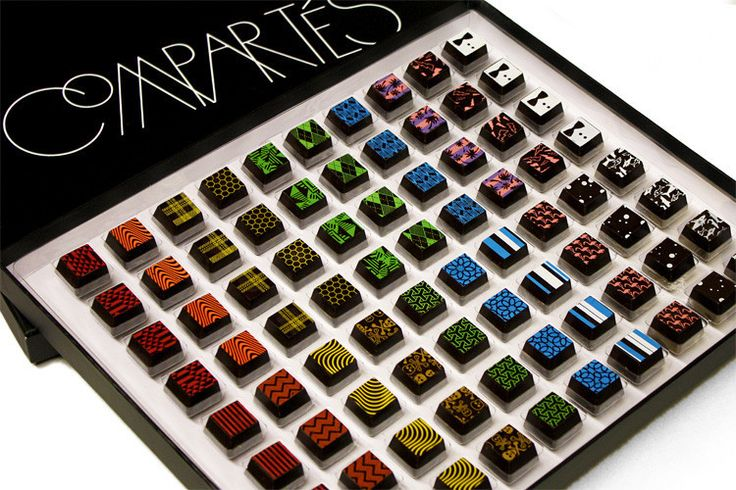 WHOA!! What a gift :) Comparte - Deluxe 80pc Signature Truffle Box