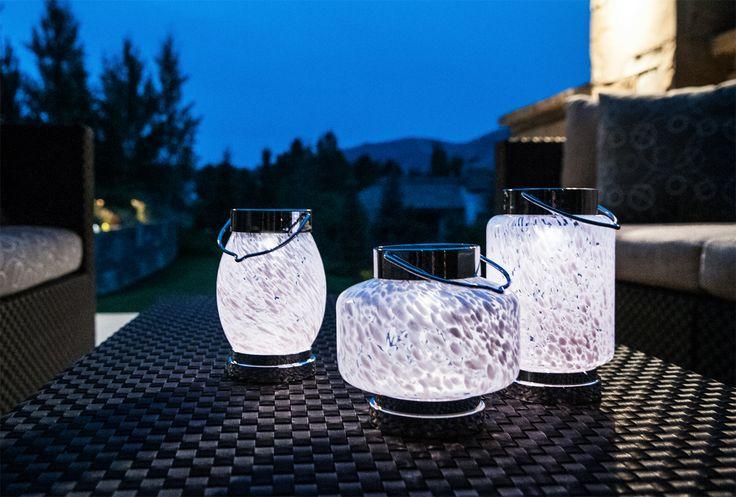 SOLAR BOATERS LANTERN   Hand Blown Glass! Www.allsopgarden.com