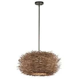 Kichler Lighting Item # 43203OZ Twigs Pendant