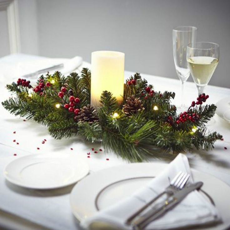 Table Centerpieces For Christmas