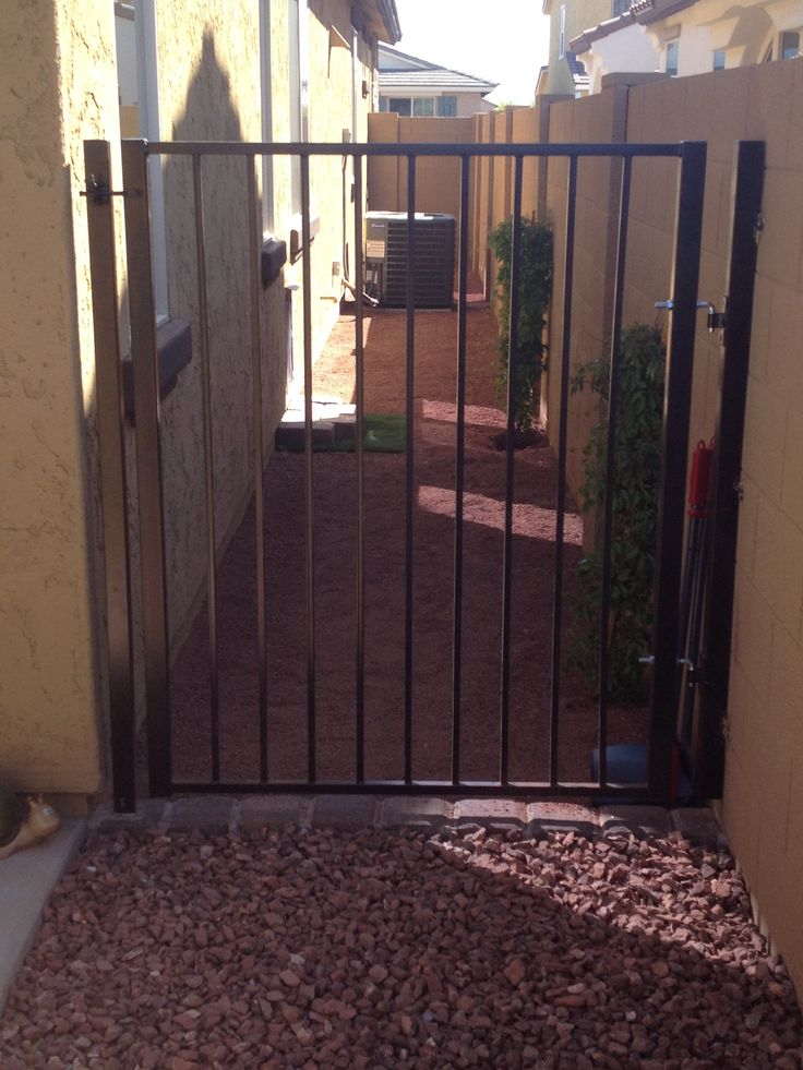 Custom gate for dog run