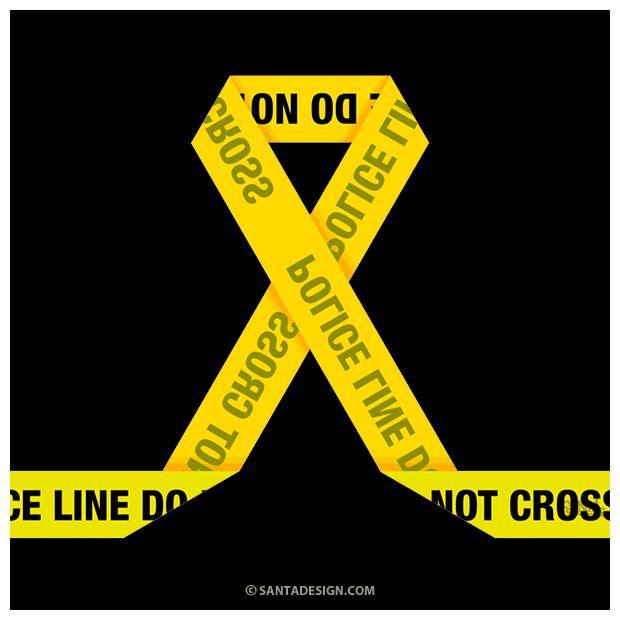 Yellow Ribbon / 노란리본 / Police Line / Korea #YellowRibbon #PoliceLine #Yellow #Ribbon #Police #Line #Peace #Korea