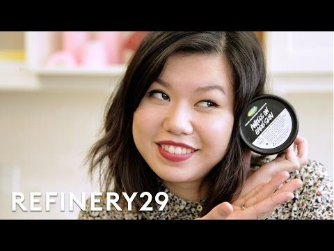 Refinery29's beauty writer Mi-Anne visits the Lush factory in Toronto to moonlight as an employee and help make her favorite cleanser: Angels on Bare Skin. C...