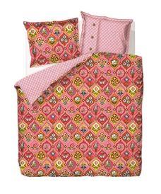 Pip Studio dekbedovertrek Fairy tiles::Perkal-Katoen::Dekbedovertrekken::Slaapkamer::De Linnenboom, de specialist in bed-, bad en keukentextiel