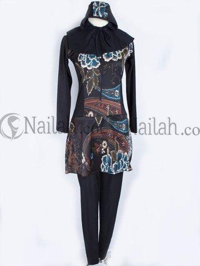 Baju Renang Batik Muslimah 3pcs 159.000 IDR Order via: www.nailah.co / SMS/WA: 0878 8718 2020 / BB: 748A8C99 / FB: Nailah.co / IG/Twitter: @Nailah Williams