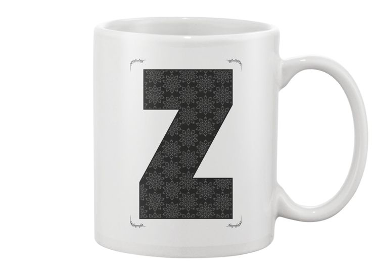 Z letter - Mug
