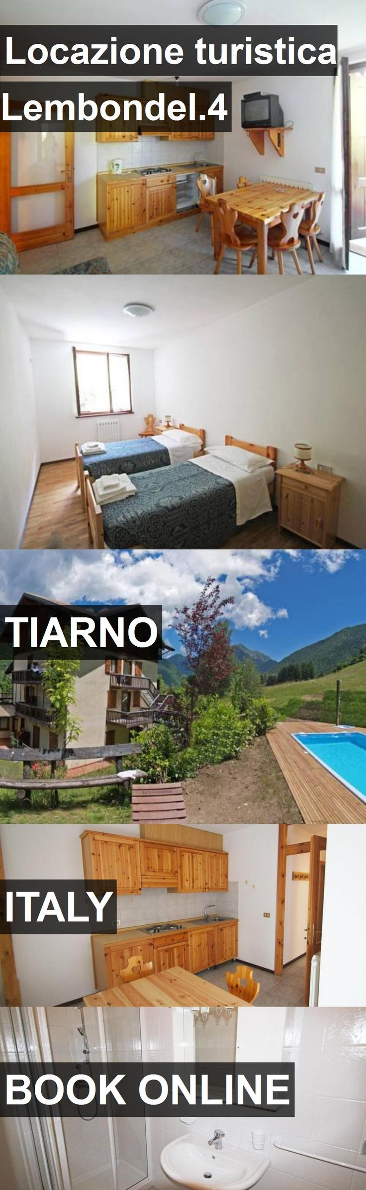 Hotel Locazione turistica Lembondel.4 in Tiarno, Italy. For more information, photos, reviews and best prices please follow the link. #Italy #Tiarno #travel #vacation #hotel