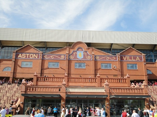 Villa Park Premier League - Football Flight - Home of British Football Trips