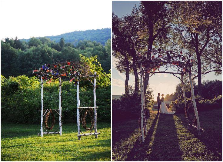 Best 25+ Rustic Wedding Arches Ideas On Pinterest