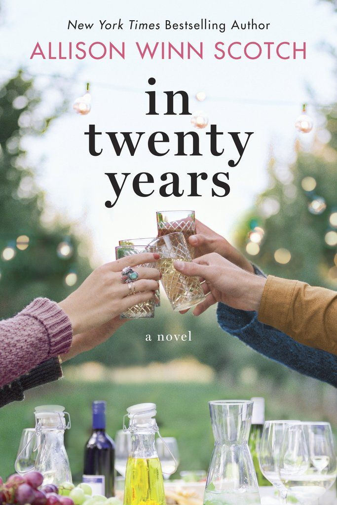 In twenty years....a reunion story of 5 college friends following the death of one friend.