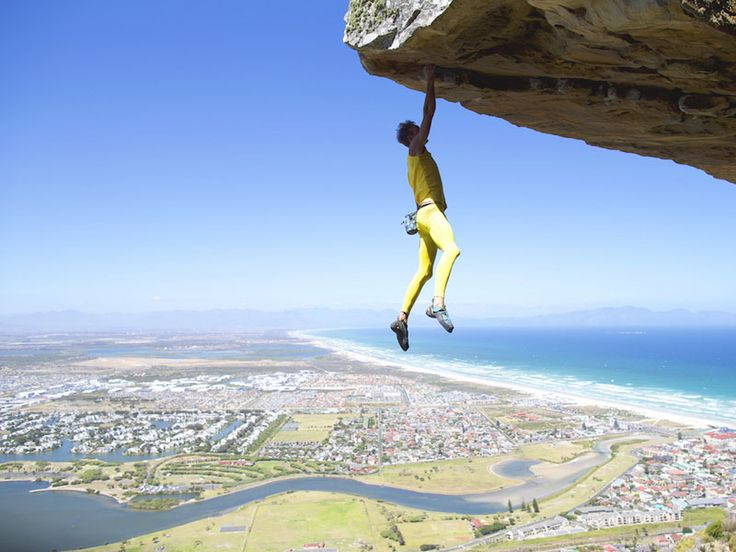 Matt Bush, the Free Solo Climbing Artist hanging by a dream