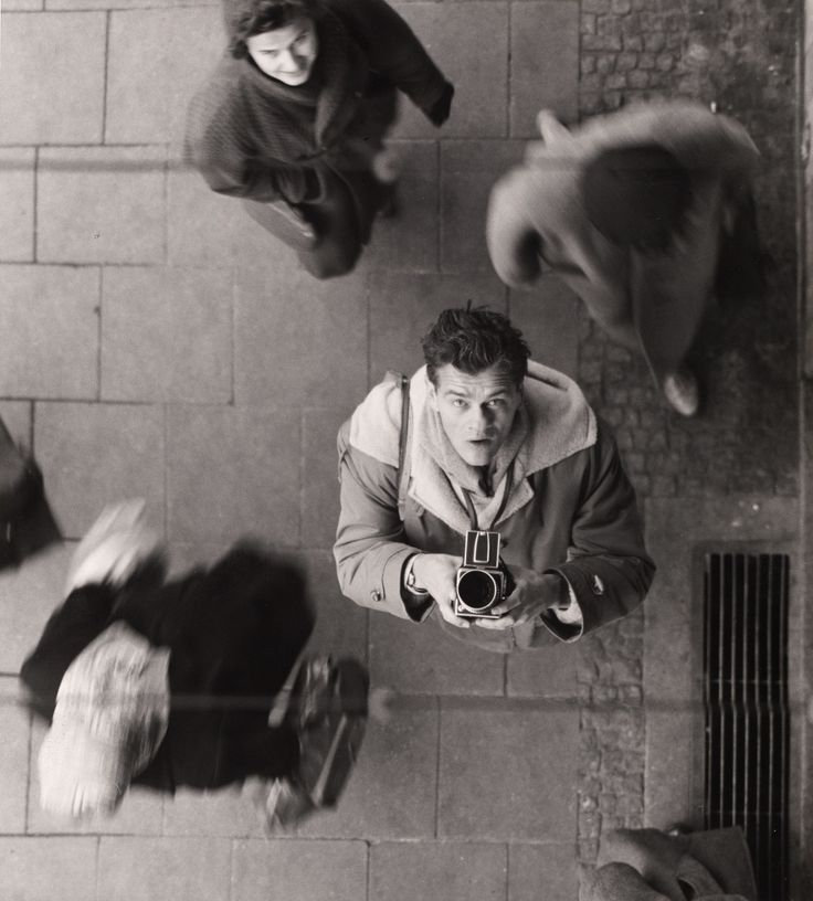 Peter Keetman, Self-Portrait with Camera, Ca. 1950, Auction 988 Photography, Lot 72