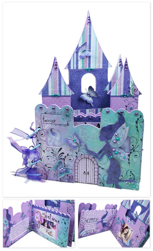 An Airy Fairy Castle Album for my daughter.