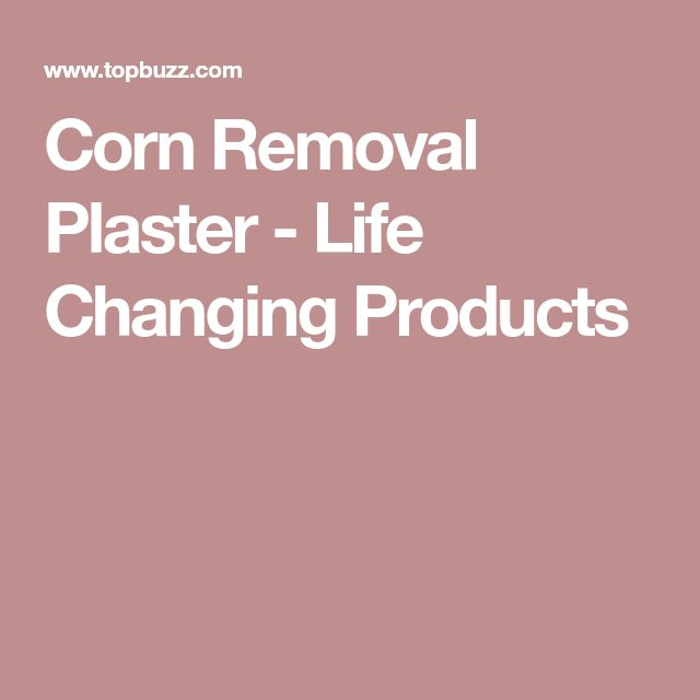 Corn Removal Plaster - Life Changing Products