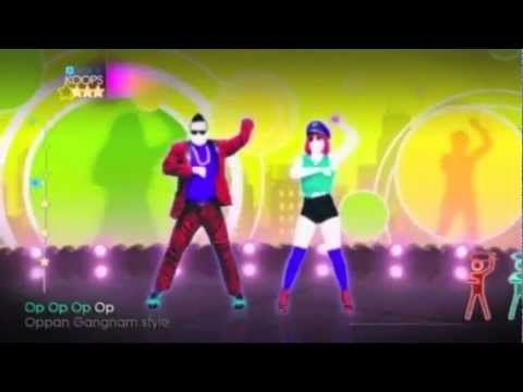 Just Dance 4 - PSY - Gangnam Style (Instrumental)