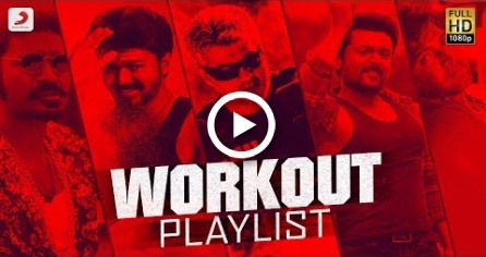 Workout Playlist Jukebox | Tamil Motivational Songs | Tamil