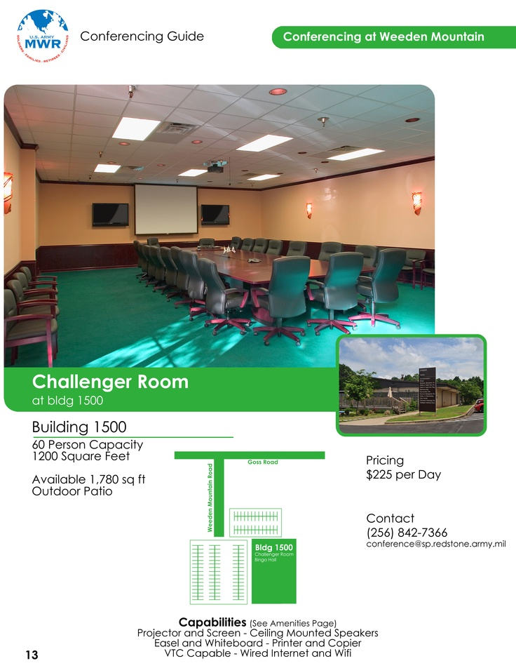 Weeden Mountain - Challenger Room