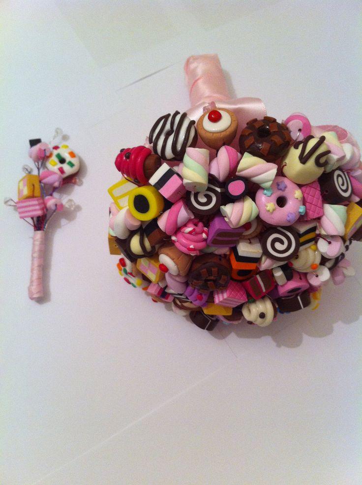 Candy Bouquet - Completly Unique. $474.92, via Etsy.