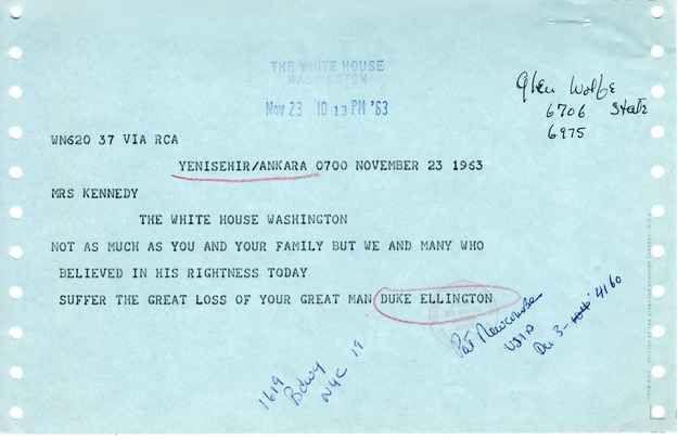 9 Heartfelt Condolence Letters Jackie Kennedy Received