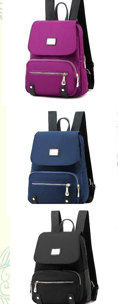 Women Flower Backpack Waterproof Cloth Hobo School Bag Rucksack Day Travel Packs
