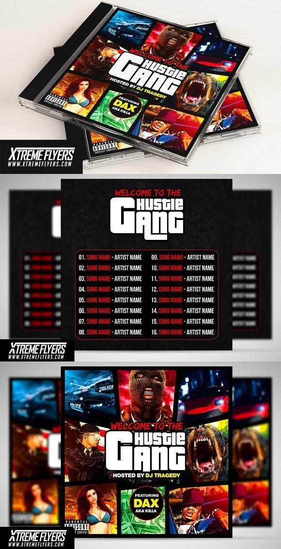 gta mixtape cover template music design pinterest cover
