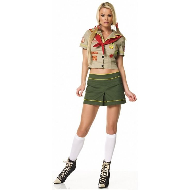 Scout dress image outline