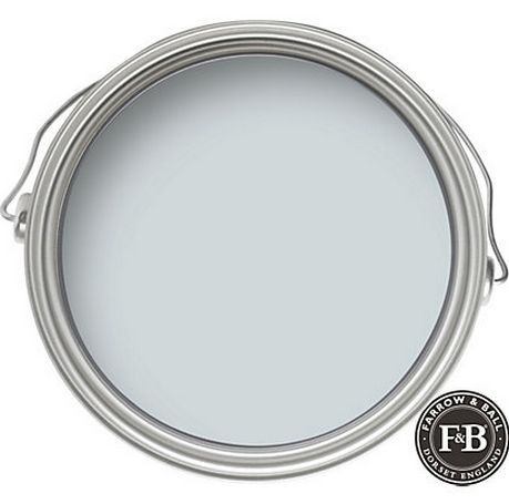 "FARROW & BALL: Borrowed Light 235 Dubbed the ""perfect"" light blue, Borrowed Light is named after the much desired extra illumination that evokes the summer sky. It works as well in rooms deprived of natural light as an airy light filled sunroom. Gorgeous in spa like bathrooms, soothing bedrooms, and a hands down favorite on …"