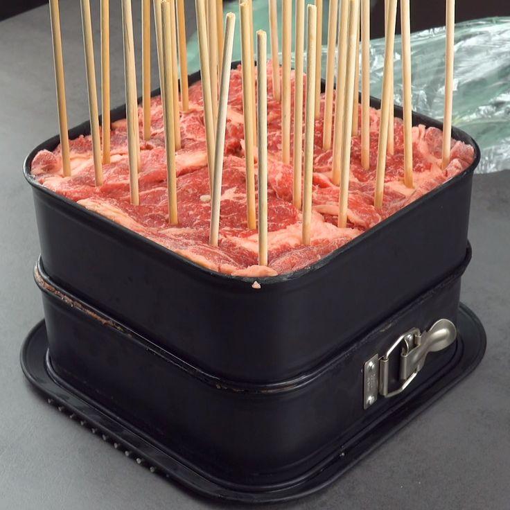 Grillspieße super einfach