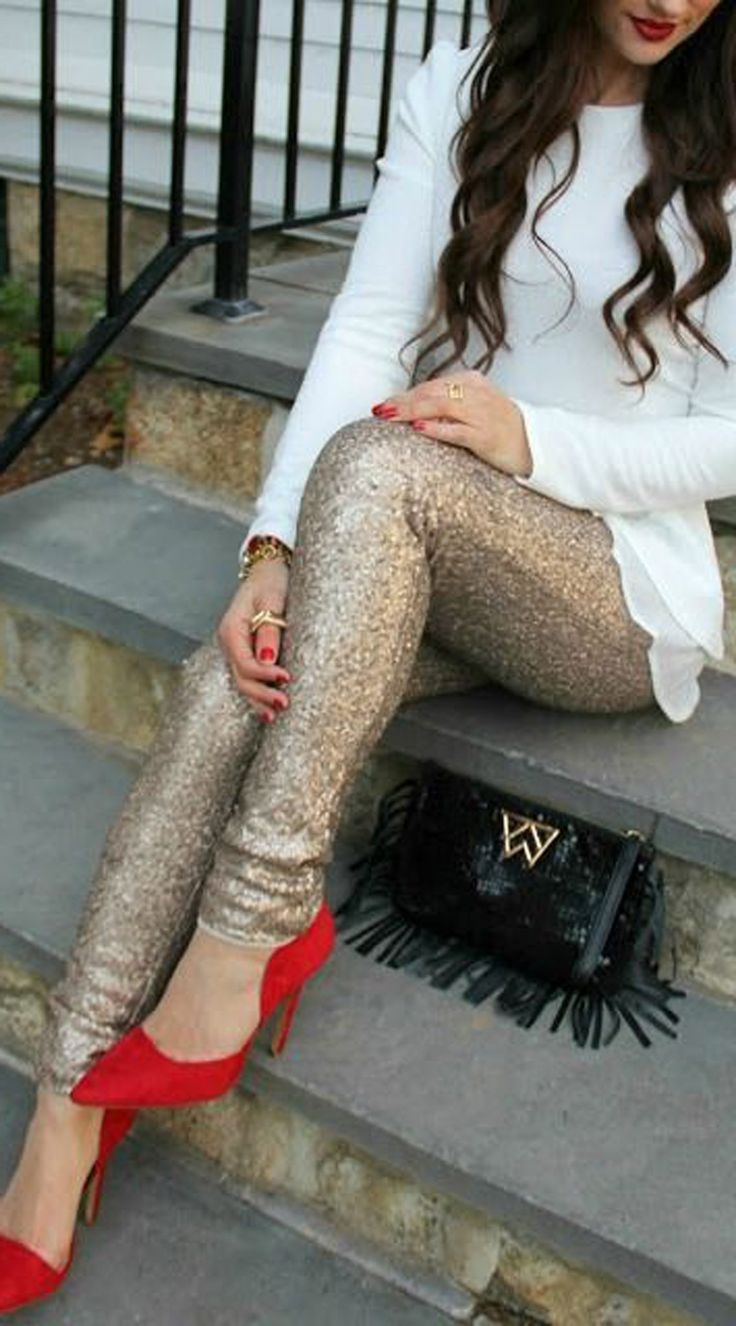 Cute Outfit Ideas for Christmas Party New Years Eve