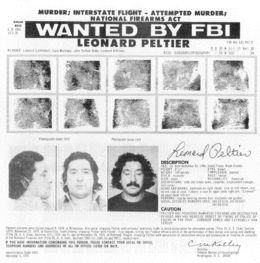 the martyrdom of leonard peltier for the american indians We resist, we survive: leonard peltier and i set out to write something about leonard peltier and i american indian movement member leonard peltier is.