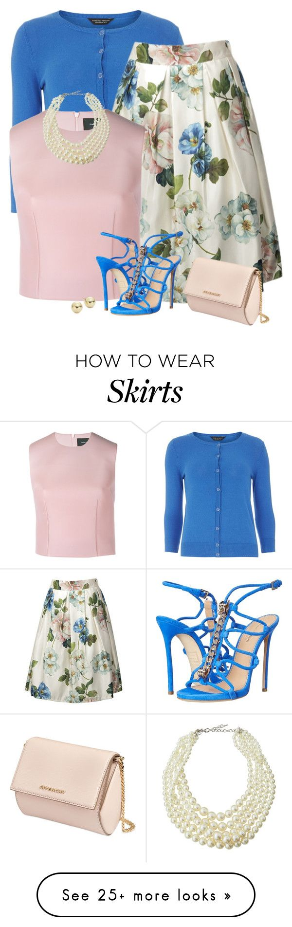 """""""Saturday"""" by divacrafts on Polyvore featuring Dorothy Perkins, Simone Rocha, Dsquared2, Givenchy, Emily & Ashley, Lord & Taylor and Original"""