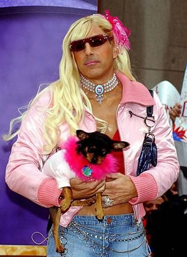 Matt Lauer as Paris Hilton 50 All-Time Best Celeb Halloween Costumes