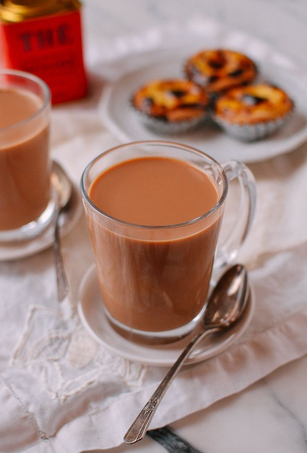 Hong Kong Milk Tea An Authentic Recipe The Woks Of Life Recipe Milk Tea Recipes Tea Recipes Authentic Recipes