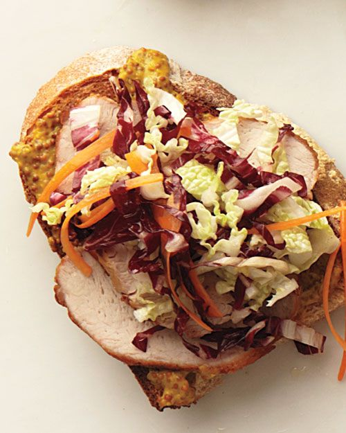 Pork and Coleslaw Sandwich - Whole Living Eat Well