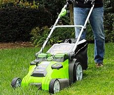 Battery Powered Lawn Mower