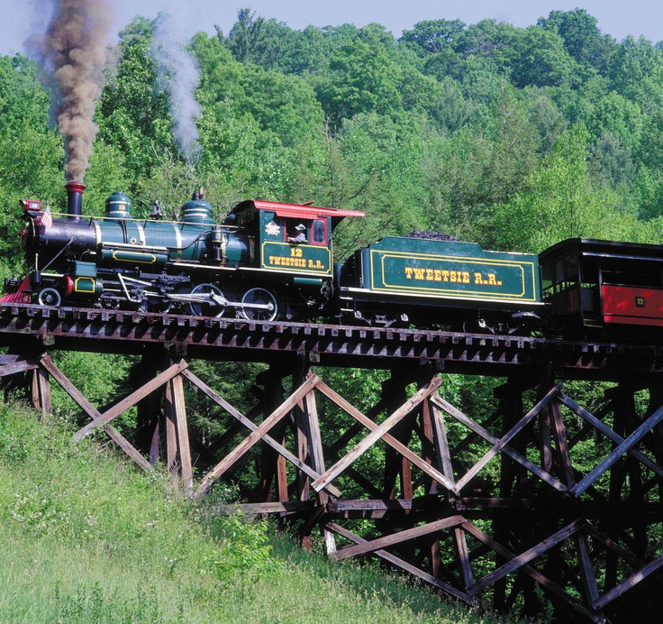 Tweetsie Railroad, Blowing Rock, North Carolina