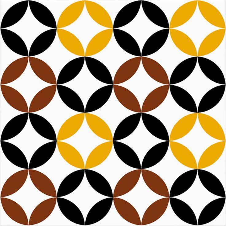 Adesivos para azulejo geométrico