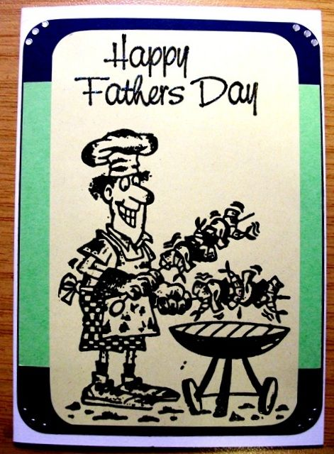 Fathers Day braai card