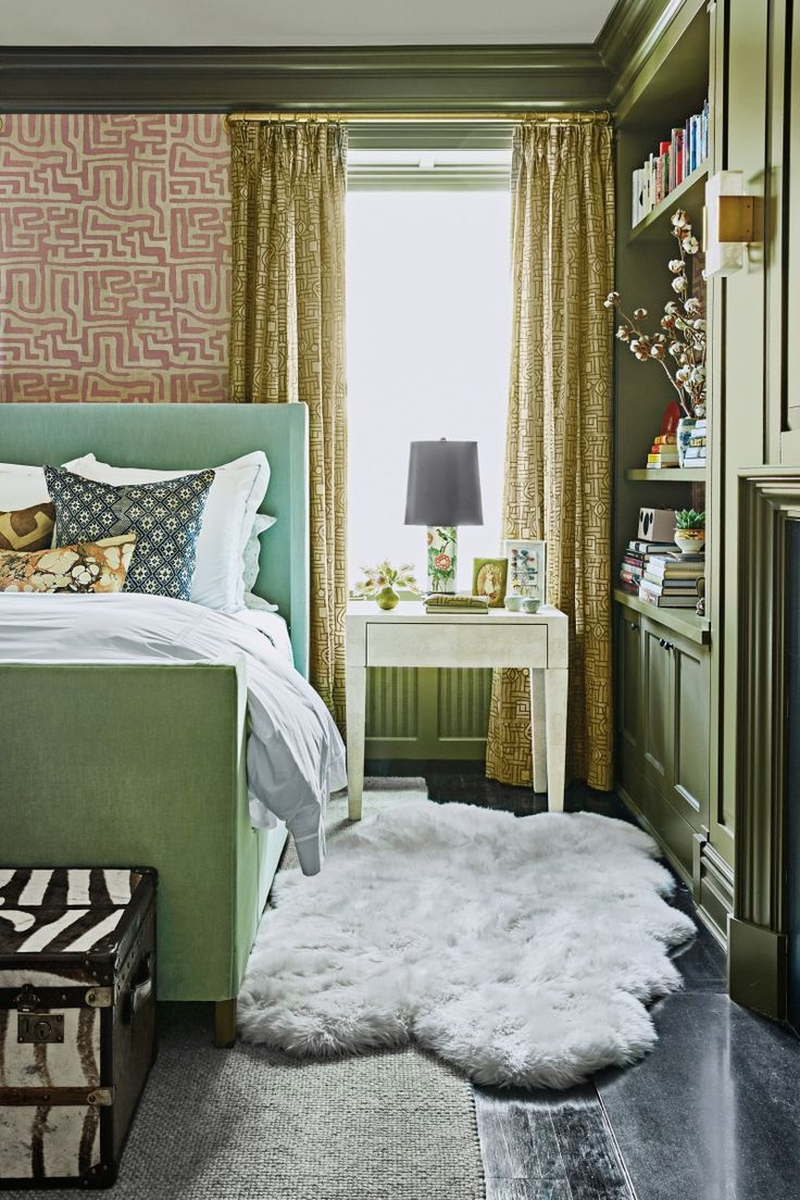 Christina Bryant S Sophisticated West Village Apartment Sage Green Bedroom Best Bedroom Colors Bedroom Green