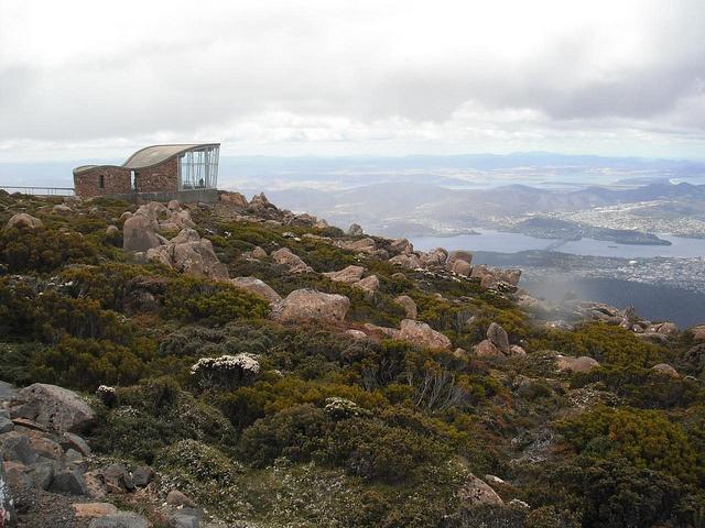 Hobart ,Mt Wellington, Tasmania