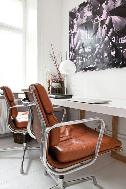 Vintage Eames EA 217 Soft Pad Office Chairs http://www.nest.co.uk/product/vitra-eames-ea-217-soft-pad-office-chair