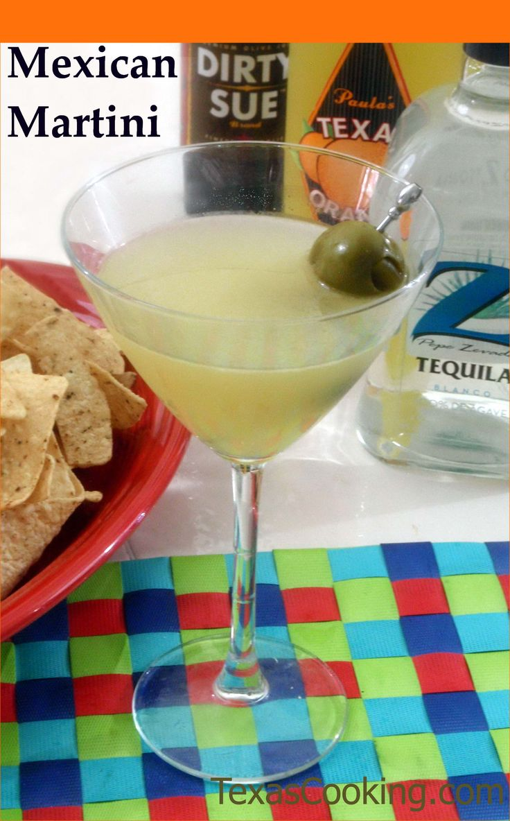 Recipe for the perfect Mexican Martini