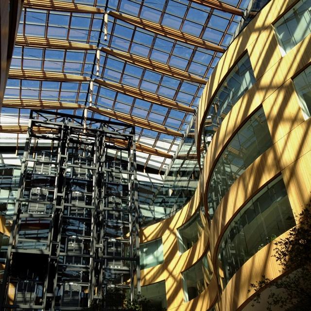 The atrium, my favorite building in #yyj