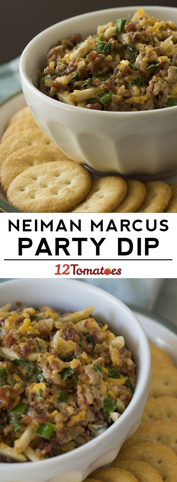 Neiman Marcus Dip! With five ingredients, along with whatever chips or crackers you decide to serve this with, this Neiman Marcus dip is packed with cheese...